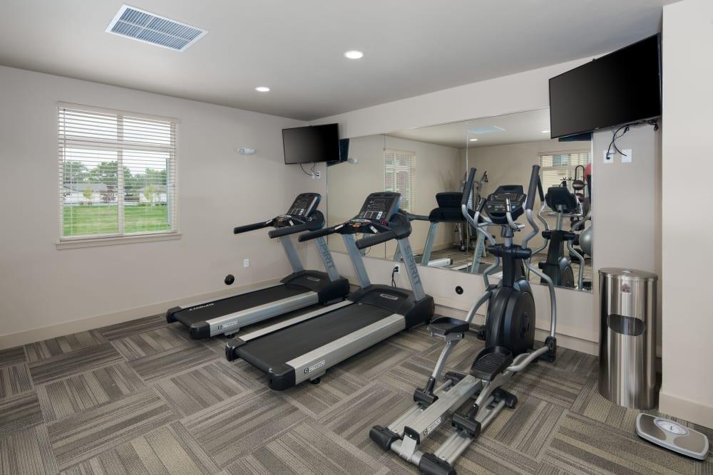 Fitness center at Affinity at Loveland