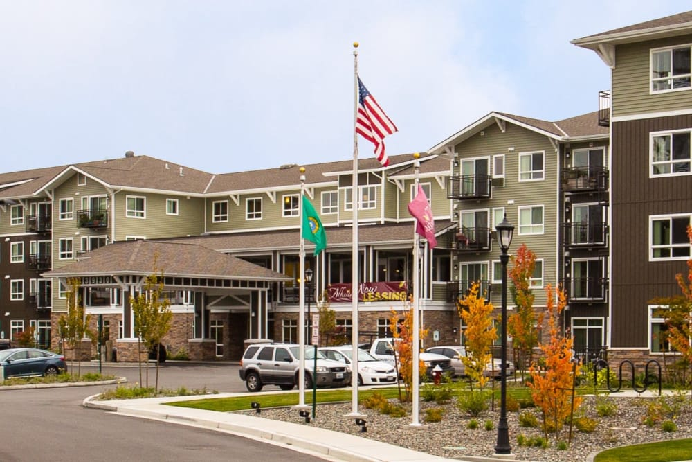 Exterior of our building at Affinity at Bellingham in Bellingham, WA