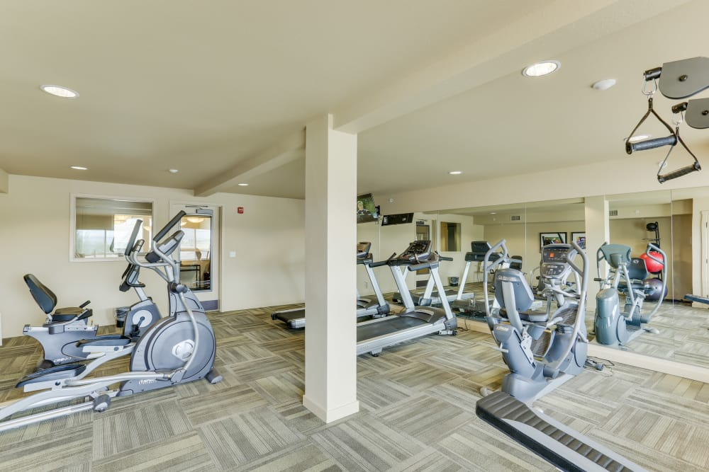 On-site gym for all residents at Affinity at Billings