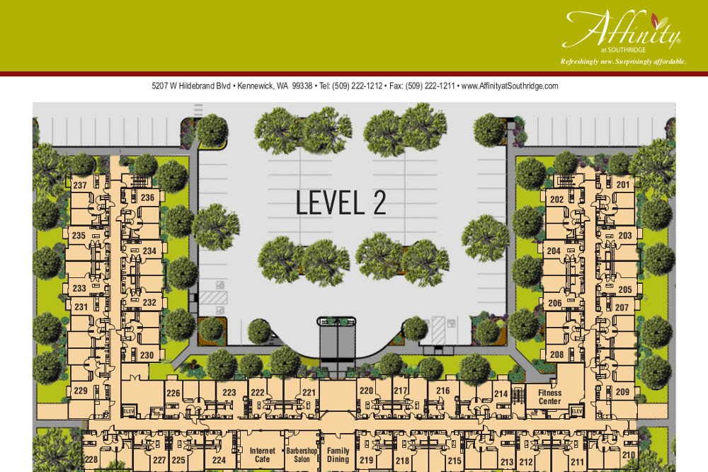 Level 2 at Affinity at Southridge
