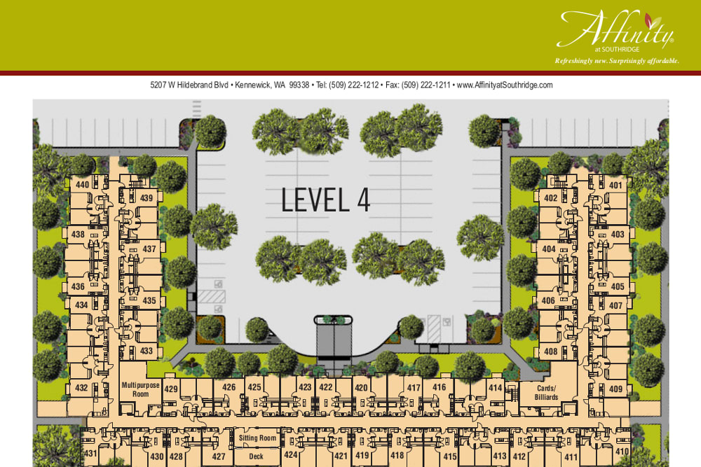 Level 4 at Affinity at Southridge