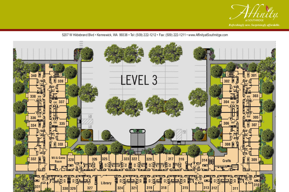 Level 3 at Affinity at Southridge