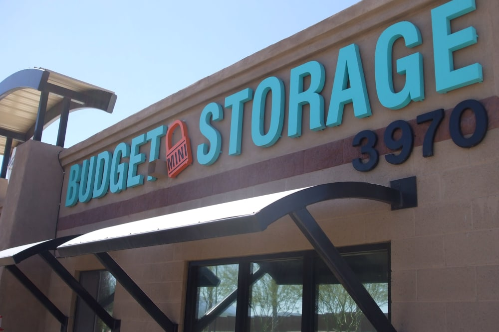 Storage units in Goodyear at Budget Mini Storage