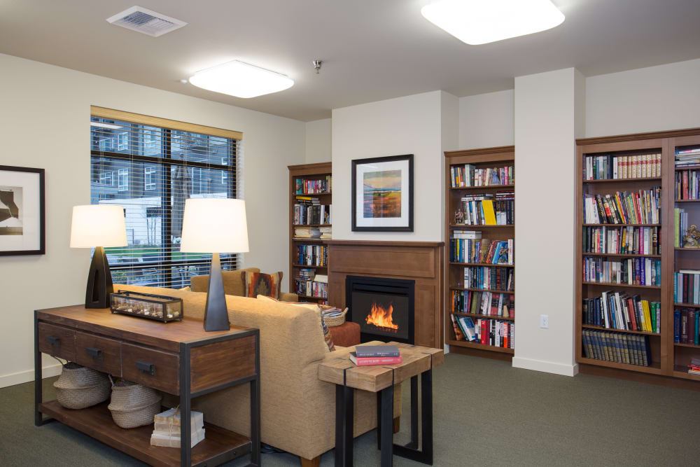 Library at Affinity at Covington