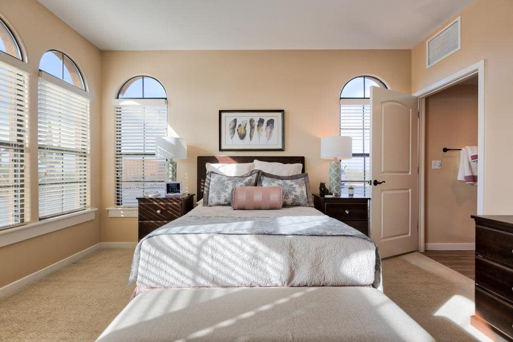 Beautiful Bedroom at Lone Mountain Memory Care in Scottsdale, AZ