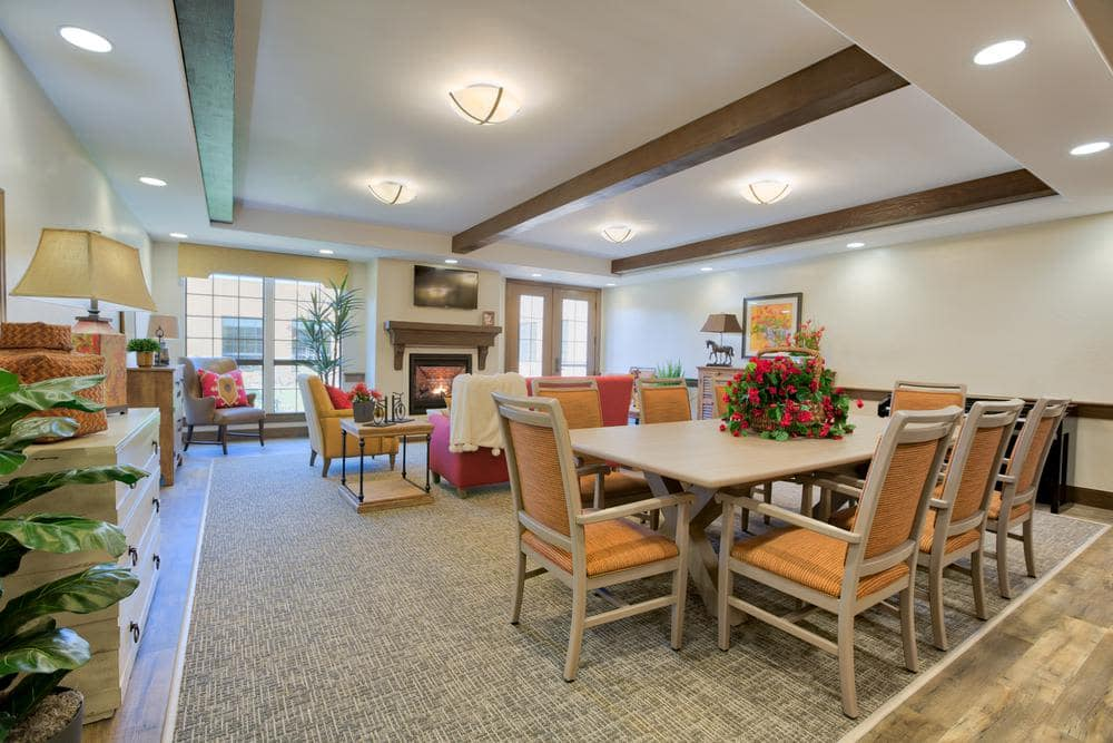 Beautiful Community Living Room at Lone Mountain Memory Care in Scottsdale, AZ