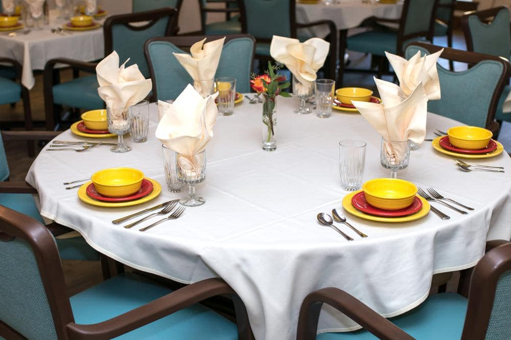Beautiful Dining Room at Lone Mountain Memory Care in Scottsdale, AZ