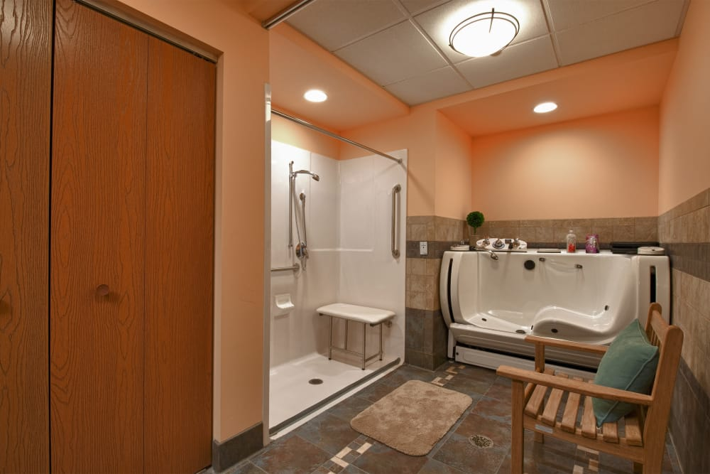 Well decored bedroom at Victory Centre of Vernon Hills