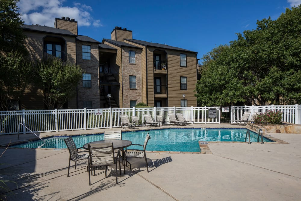 Our apartments in Arlington, TX offer a swimming pool