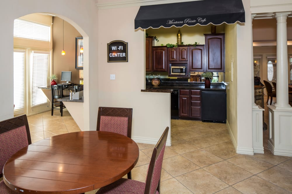 Monterra Pointe offers a beautiful kitchen in Arlington, TX