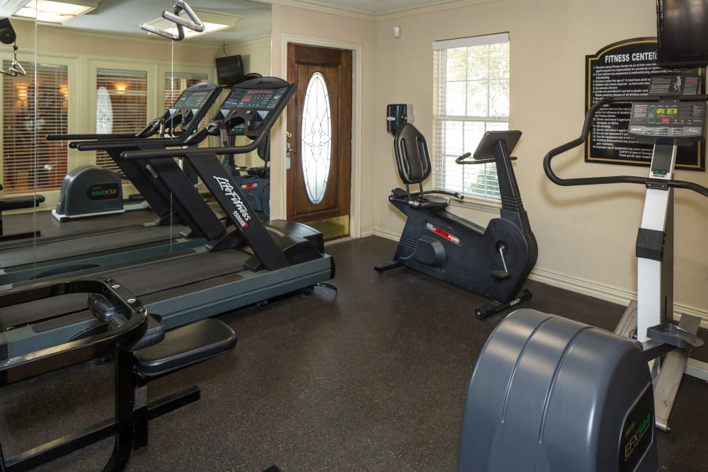 Our apartments in Arlington, TX offer a fitness center