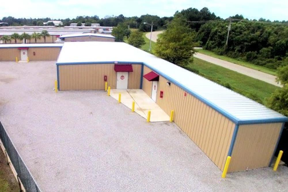 Climate controlled units at America's Mini-Storage and Office Complex in Port St. Joe