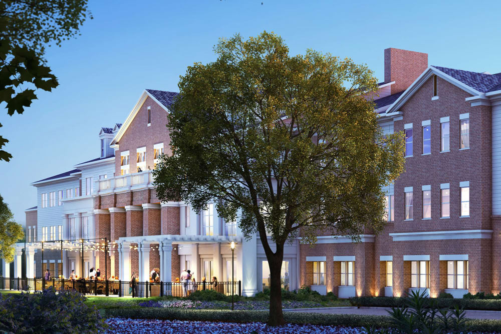 Rendering of HarborChase of Prince William Commons