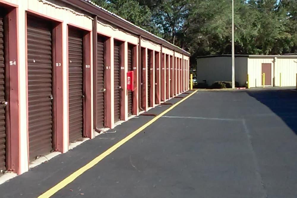 Storage units at Best American Storage in Tavares