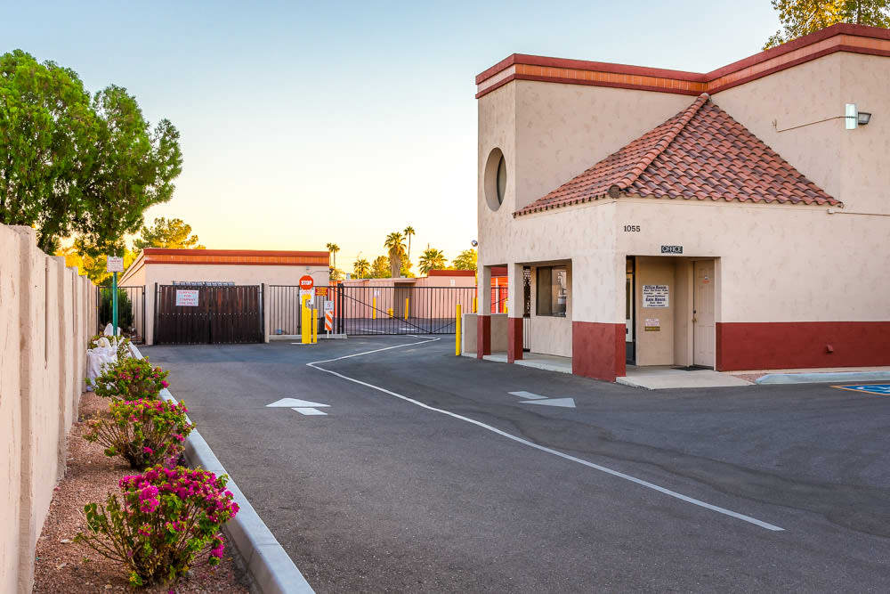 Exterior view of our self storage office in Mesa, AZ