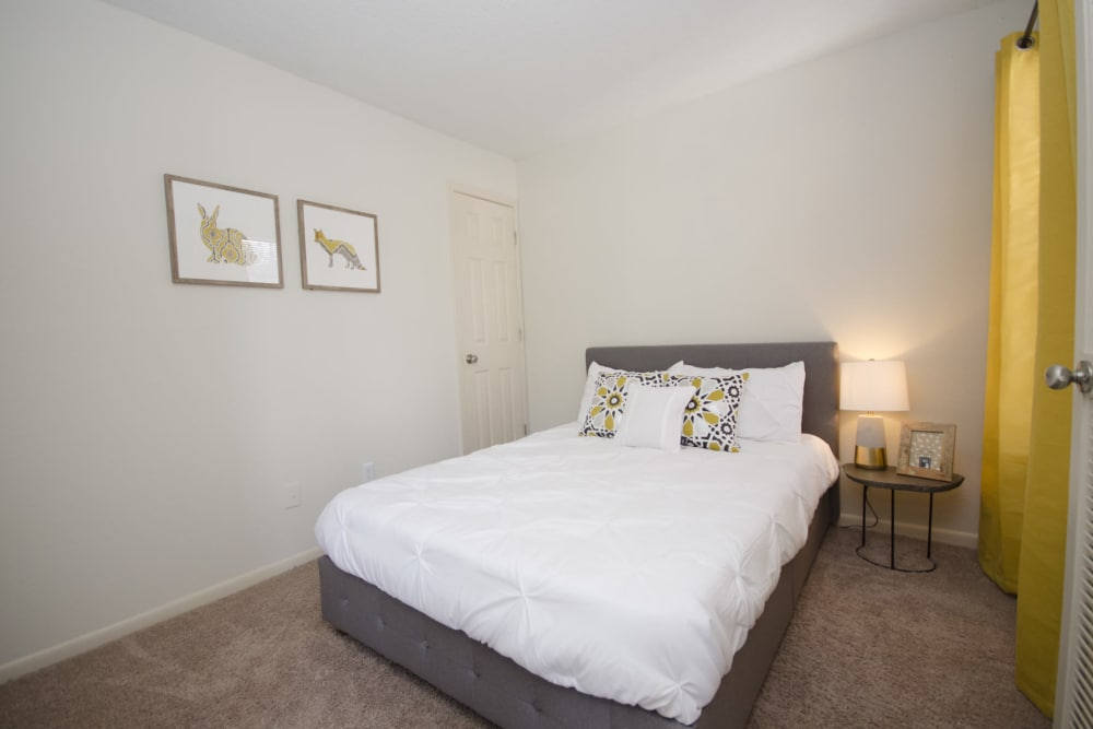 Spacious bedroom at Dunfield Place in Lawrenceville, GA