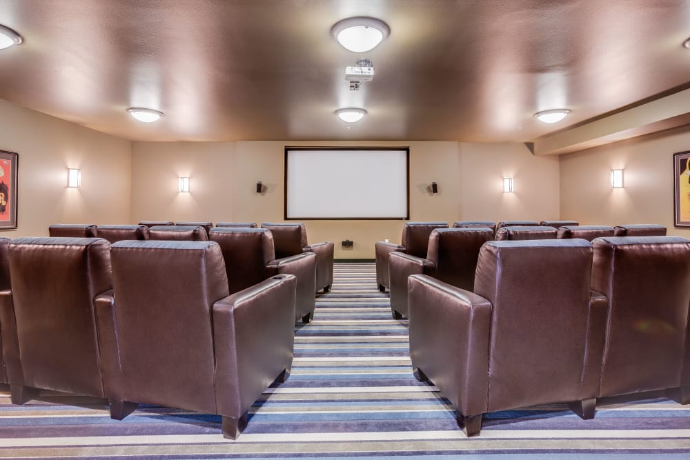 Resident theater at Affinity at Colorado Springs
