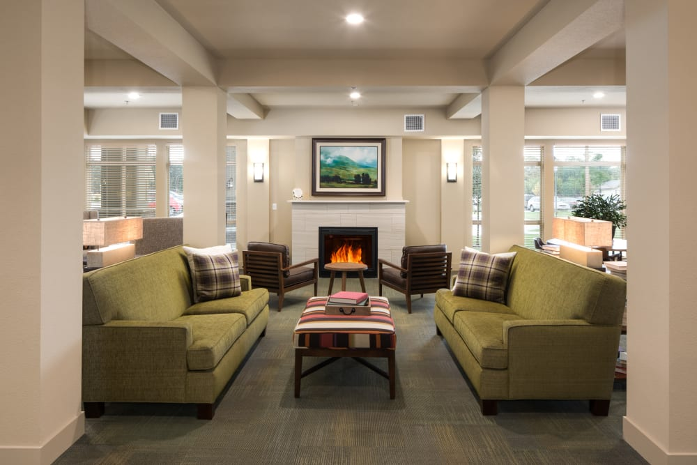 Lobby at Affinity at Fort Collins