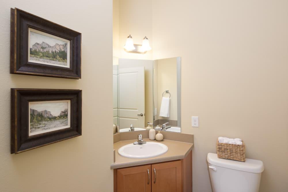 Affinity at Fort Collins bathroom