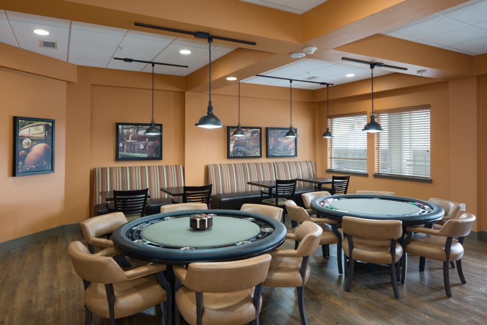 Resident dining room at Affinity at Fort Collins