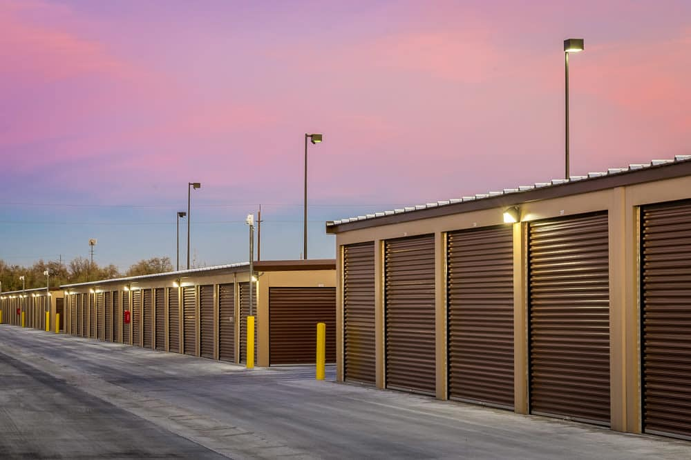 Exterior self storage units at Yakima Valley Storage in Yakima, WA