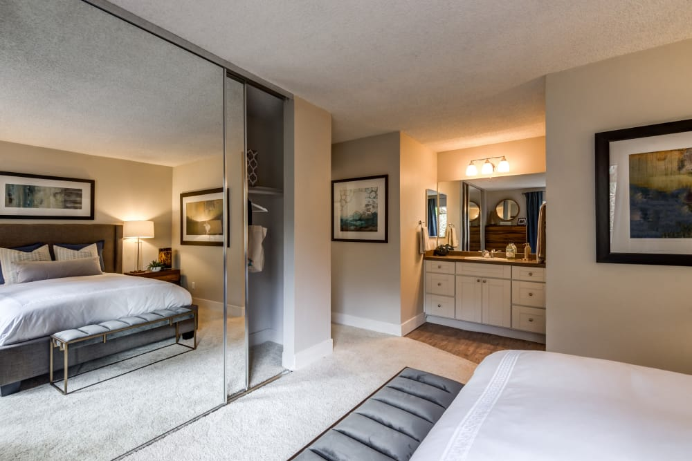 Enjoy a unique bedroom at Vue Oceanside