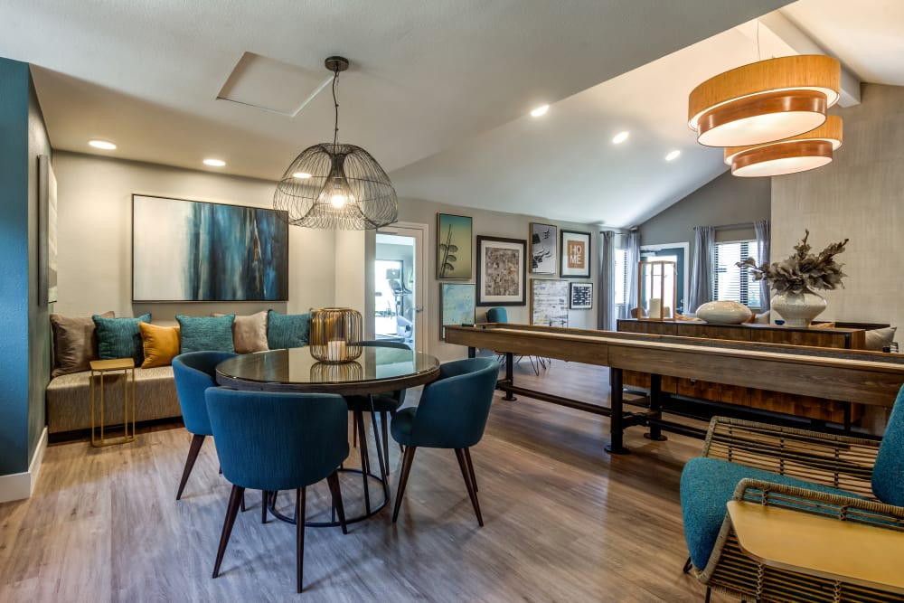 Enjoy apartments with a renovated dining room at Vue Oceanside
