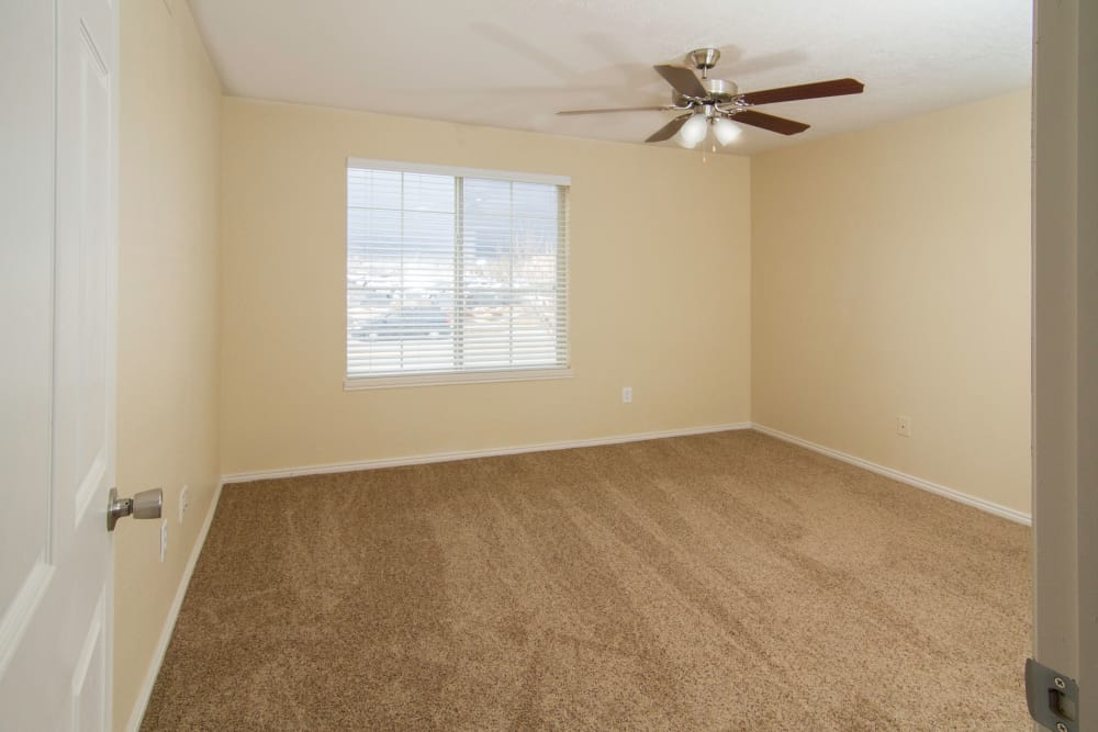 Bedroom at Woodgate Apartments