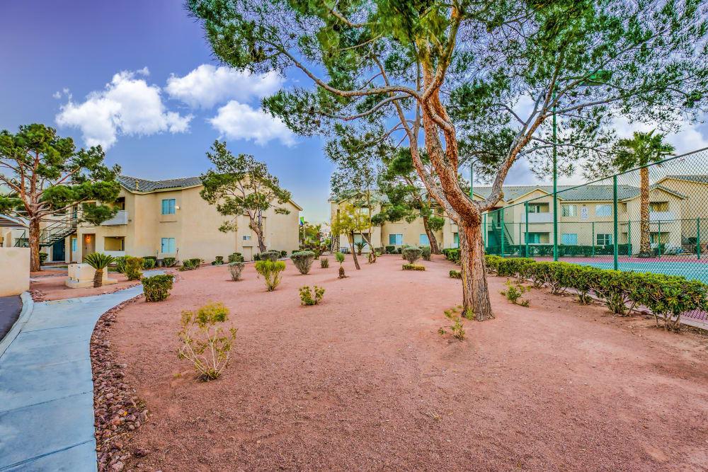 Beautiful day at Portofino Villas Apartments