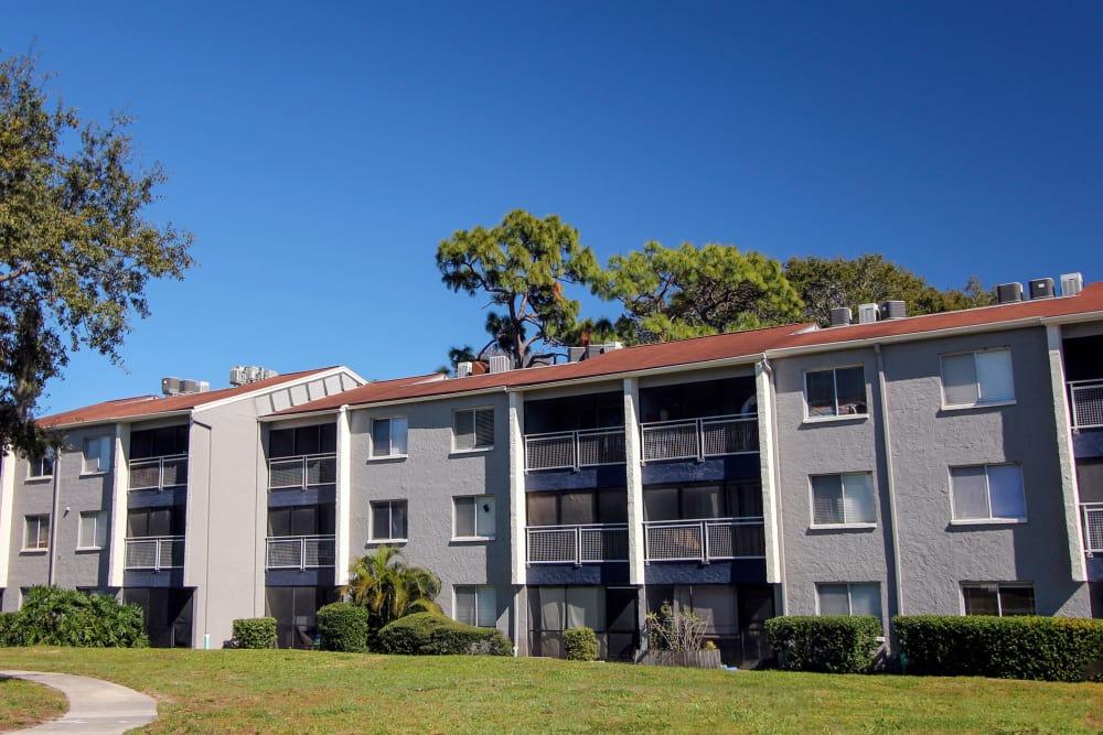 Apartments building at Promenade at Edgewater in Dunedin, FL