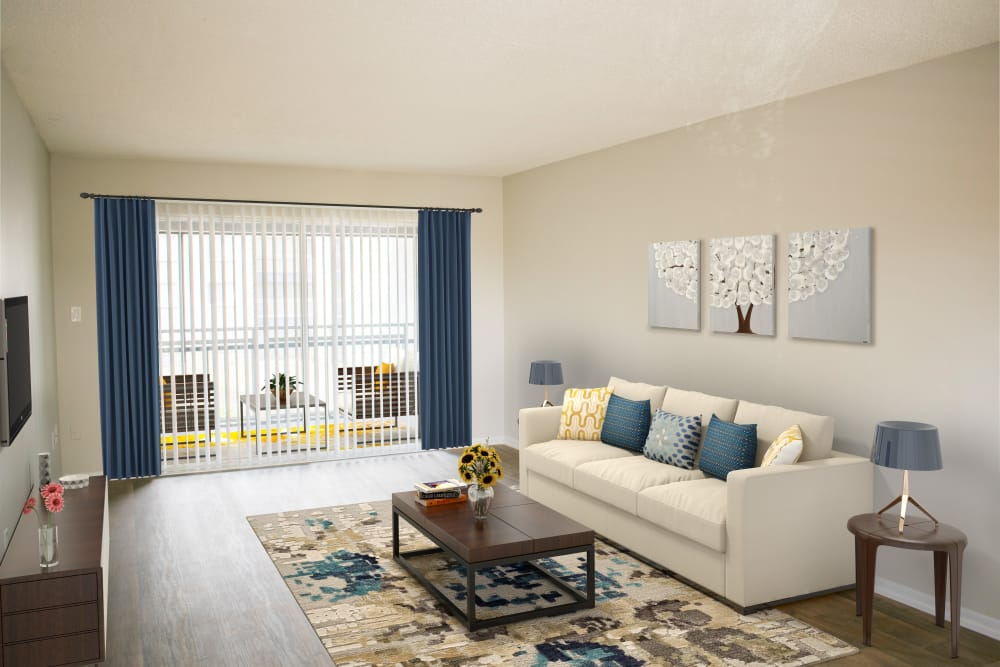 Luxury living room in Dunedin, Florida