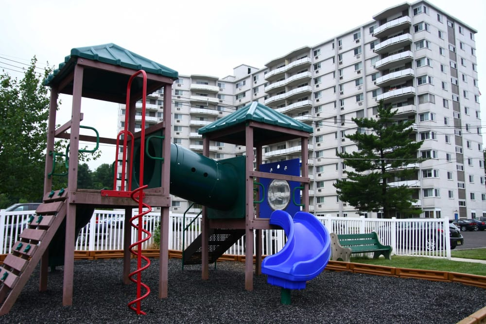 A fun playground at Haddonview Apartments