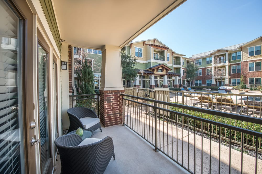 Terrawood offers private balconies