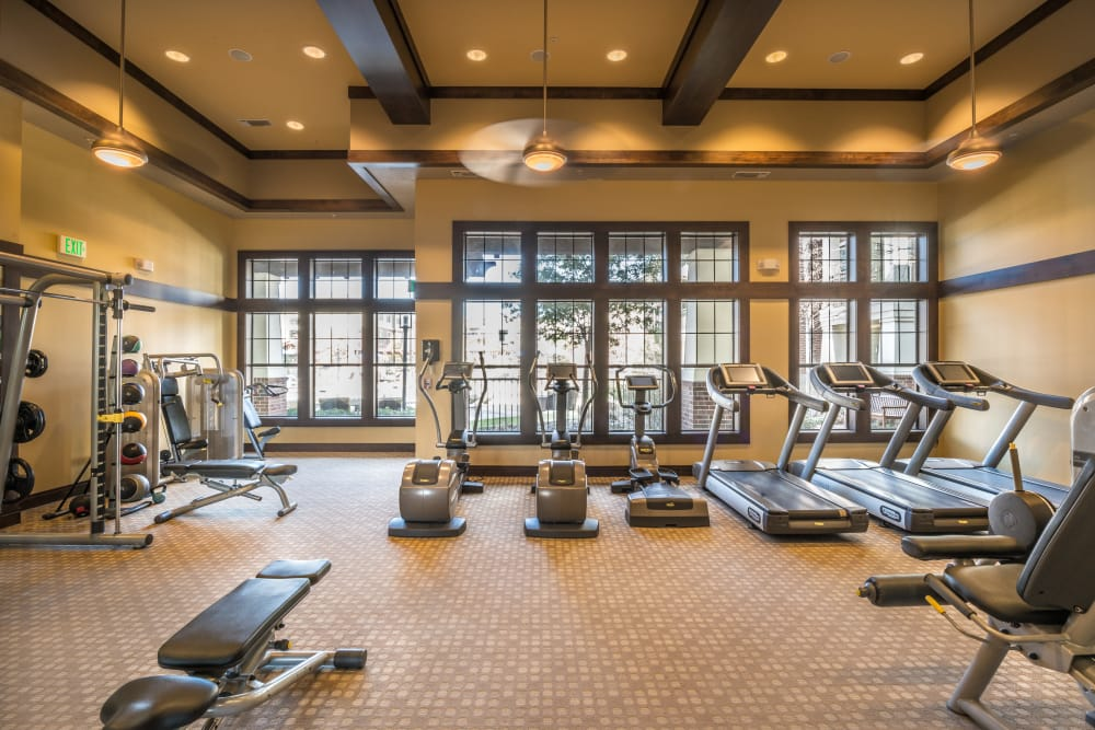 Onsite fitness center at Terrawood
