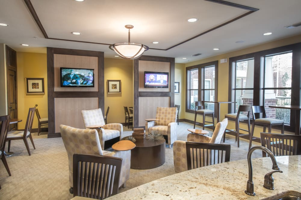 Resident lounge at Terrawood