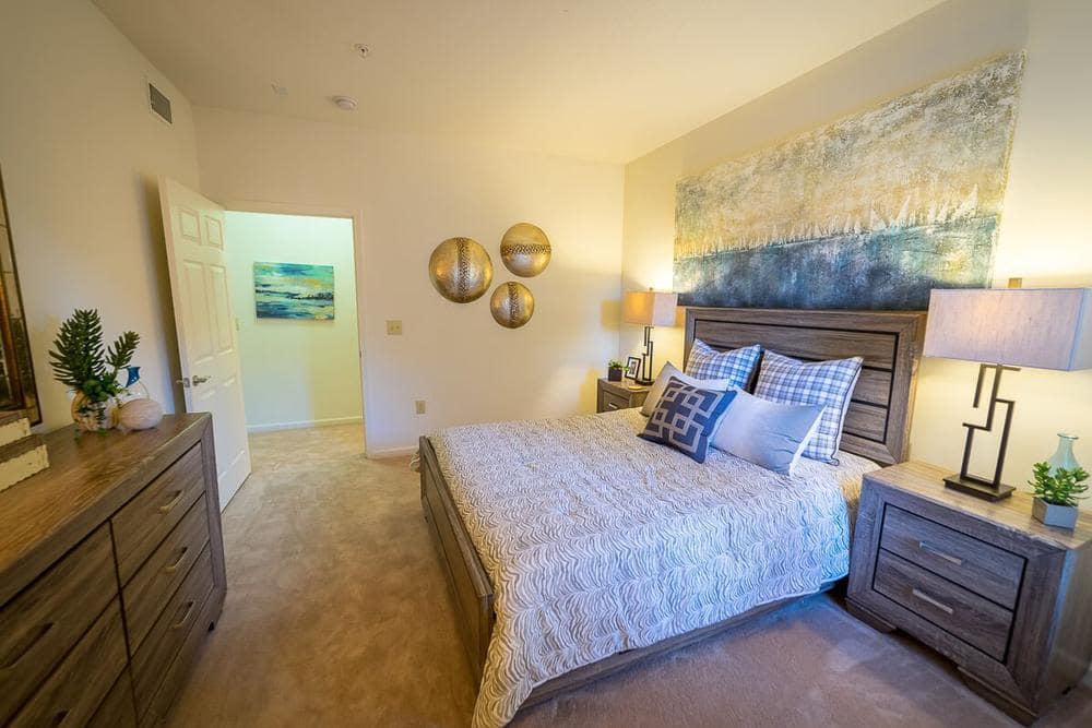 Bedroom at The Enclave at Deep River in Greensboro, North Carolina