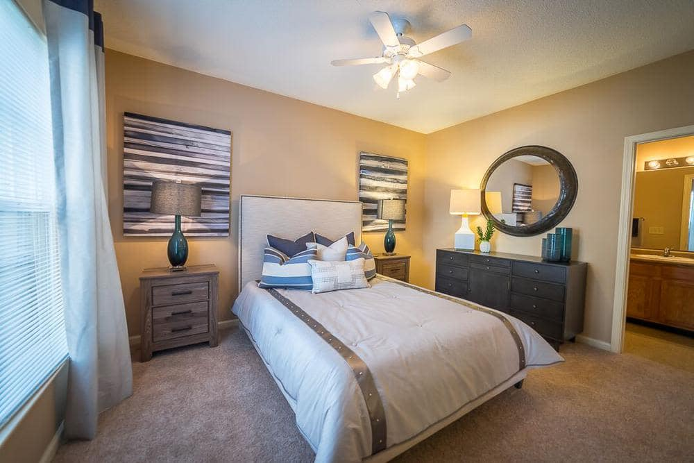 Bedroom at Polo Village in Columbia, South Carolina