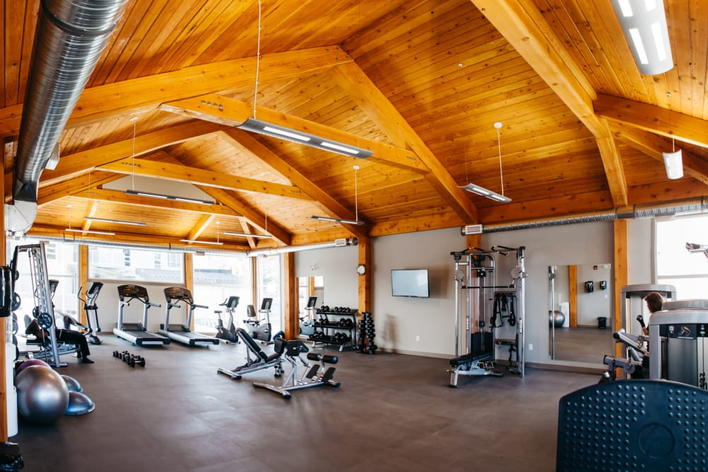 Elata offers a state-of-the-art fitness center in Calgary, Alberta