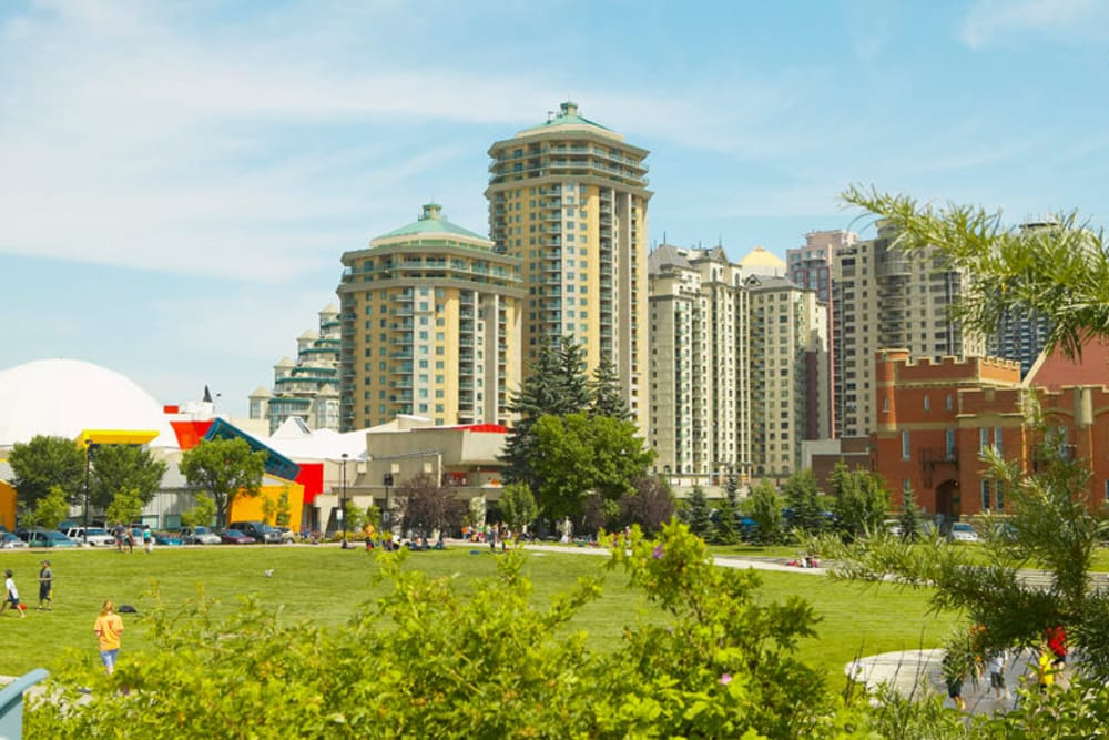 View of Discovery Pointe in Calgary, AB