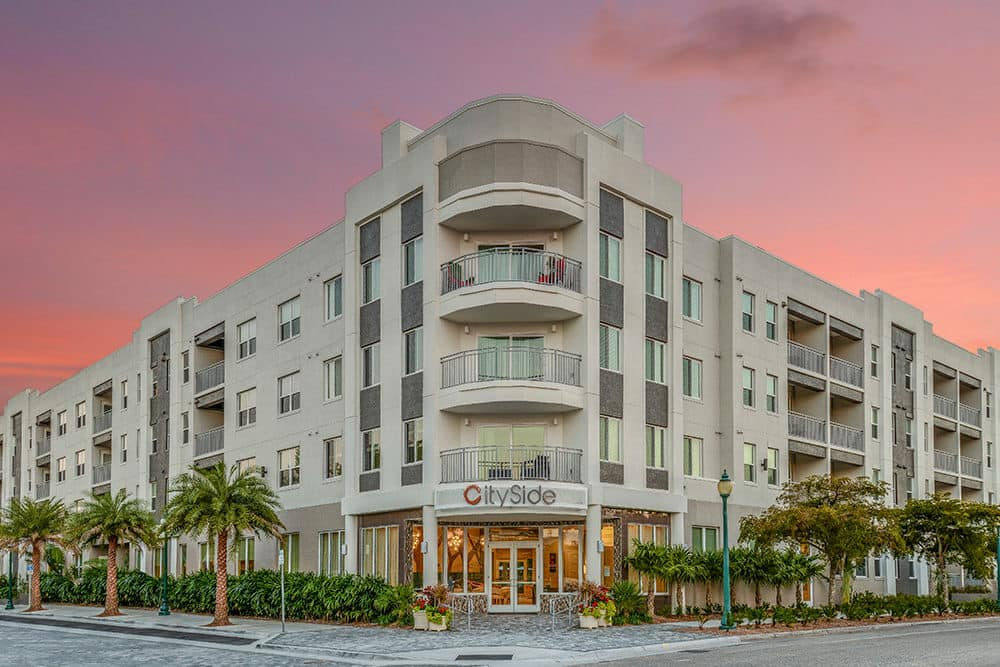 Building Exterior at CitySide Apartments in Sarasota, FL