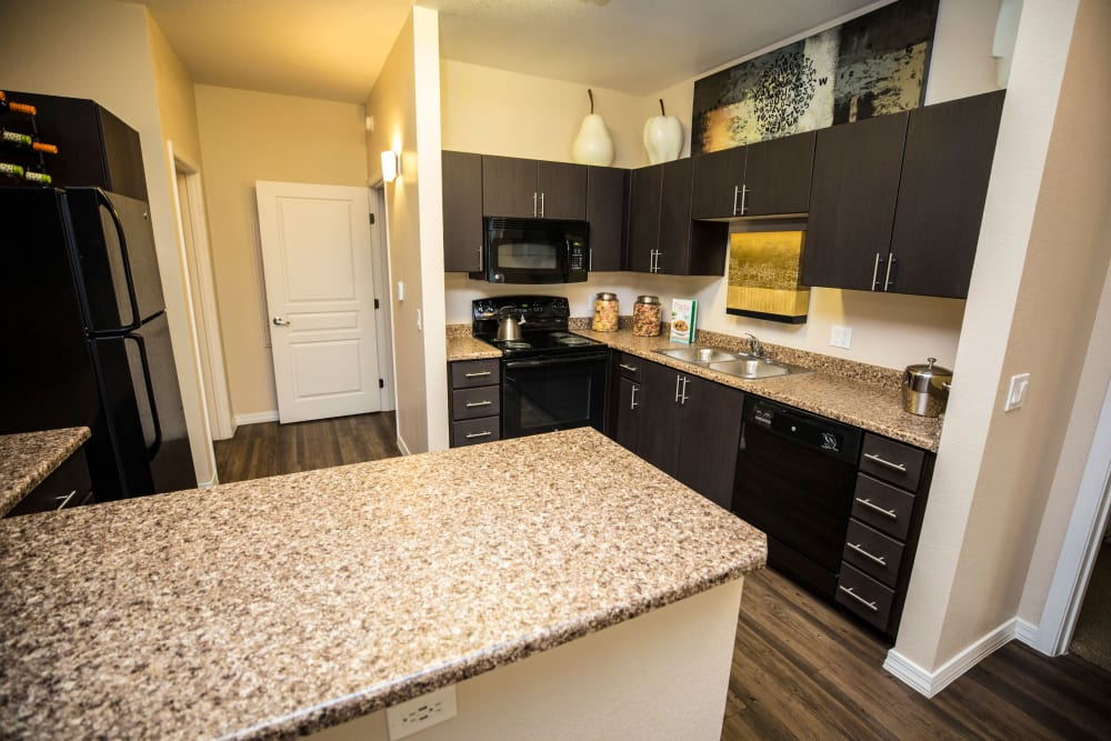 Nice kitchen at Avenue 25 Apartments