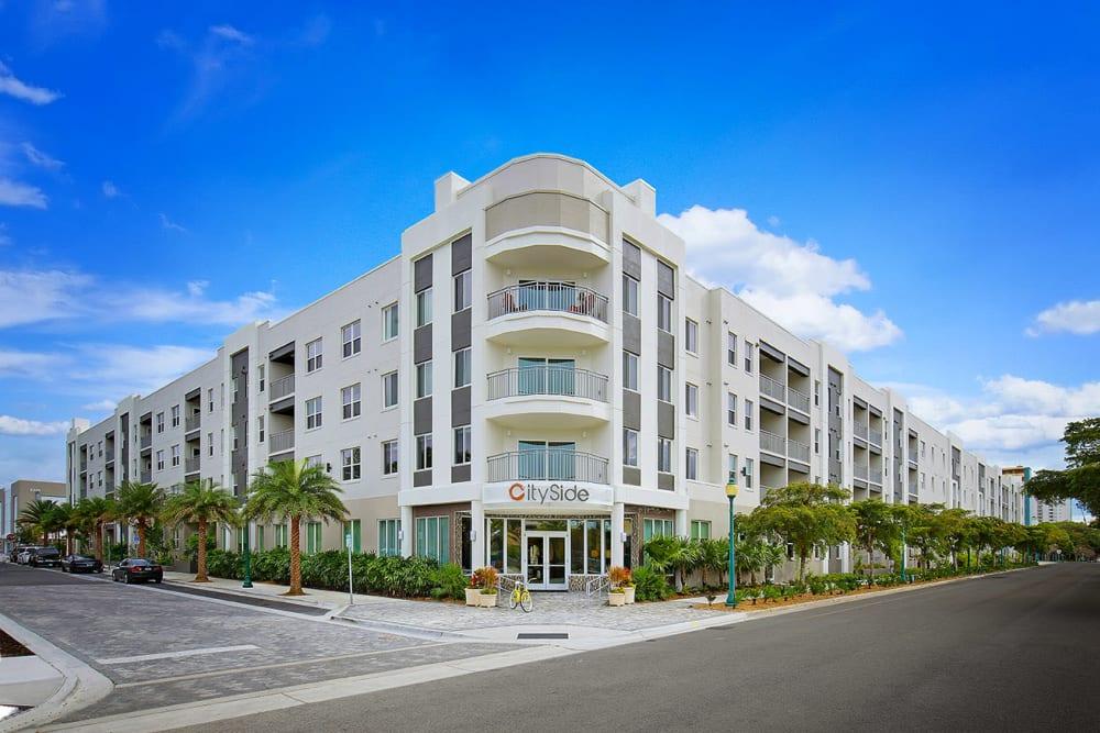 Building Exterior at CitySide Apartments in Sarasota, FL
