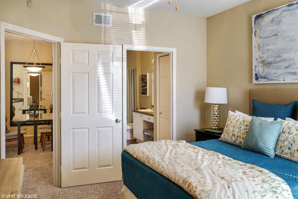 Master bedroom at Verandahs of Brighton Bay