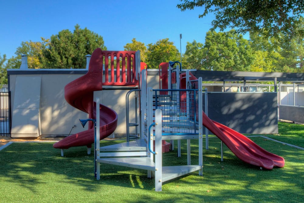 Wonderful playground at Sandpiper Apartments in Holladay, Utah