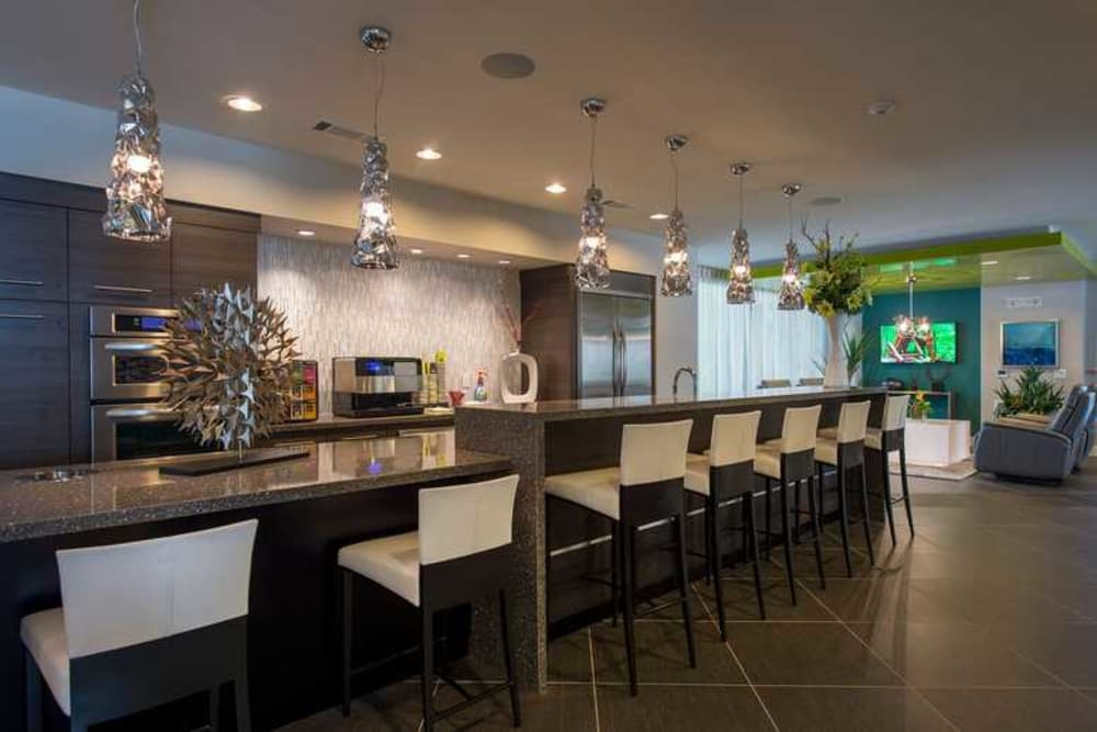 Resident retreat at Imperial Lofts in Sugar Land, Texas