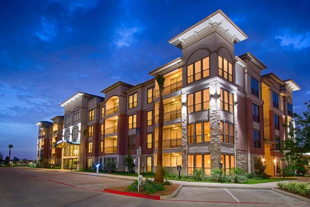 Exterior view at Imperial Lofts in Sugar Land, Texas
