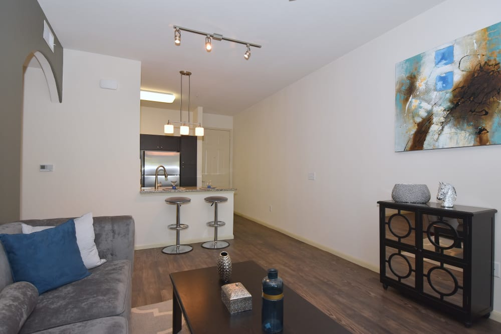 Midtown Grove Apartments has open floor plans