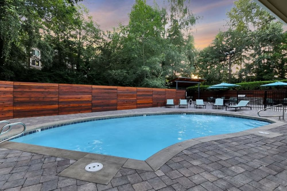 Enjoy Apartments with a Swimming Pool at Maple Glen Apartments