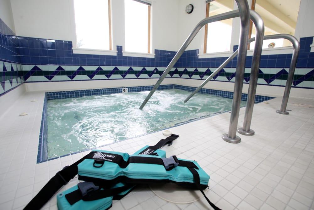 Swimming pool at Crystal Terrace of Klamath Falls in Klamath Falls, OR