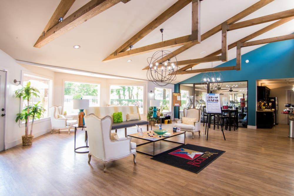 Sun-lit Deerbrook Forest Apartments resident center